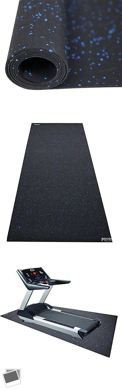 Equipment Mats and Flooring 179806: Revtime Treadmill Mat 6.5X3 (78X36)Heavy Duty Fitness Equipment Rubber Mat -> BUY IT NOW ONLY: $83.49 on eBay!