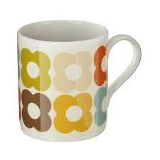 Mug by Orla Kiely bone china multi flower