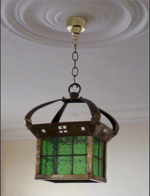 Antiques atlas scottish school hanging light