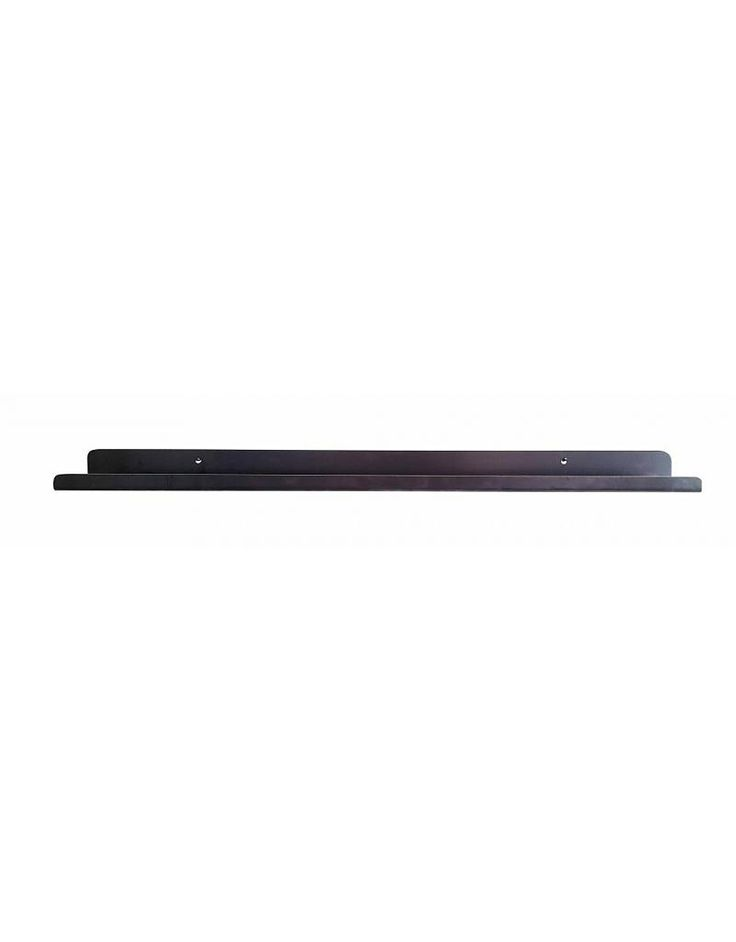 Stoer Metaal ijzeren wandplank of planchet, 80 cm of 150 cm lang - Stoer Metaal