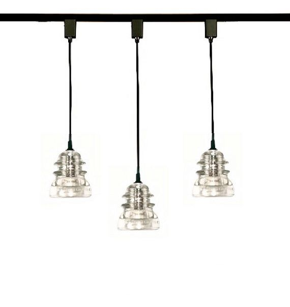 Just Reduced Rustic Handmade 3 Bulb Hanging Light Fixture Or: 25+ Best Ideas About Pendant Track Lighting On Pinterest
