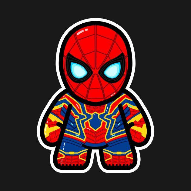 Iron Spider Spiderman Infinity War Marvel Drawings Marvel Art Avengers Cartoon