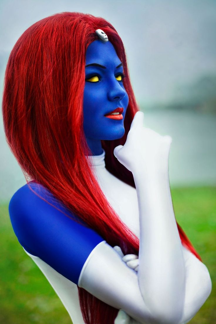 Pin On Marvel Cosplay Mystique Raven Darkhlme-6994