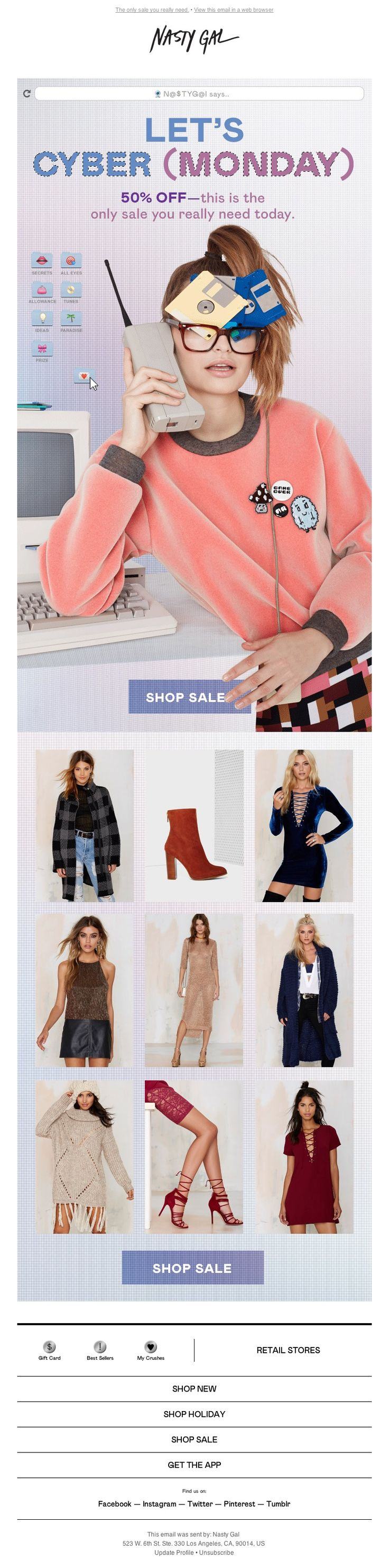 Nasty Gal - Cyber Monday Isn't Over Yet—Shop 50% Off Now!