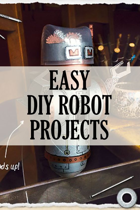 Top 10 robots projects you can do with your kids