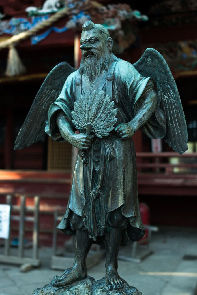 Tengu at Head Temple Takao-san Yakuo-in, Mt. Takao, Hachioji, Tokyo by Yoshikazu Takada