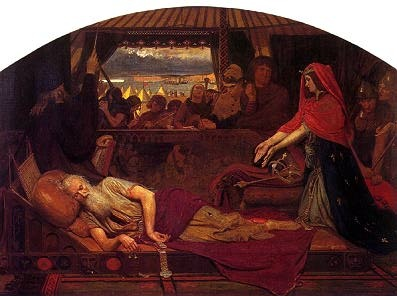 Ford Madox Brown, Lear and Cordelia (1848-49)