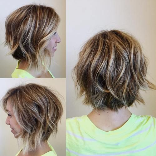 pictures of haircuts with bangs and layers 1000 ideas about wavy lob haircut on wavy lob 6304