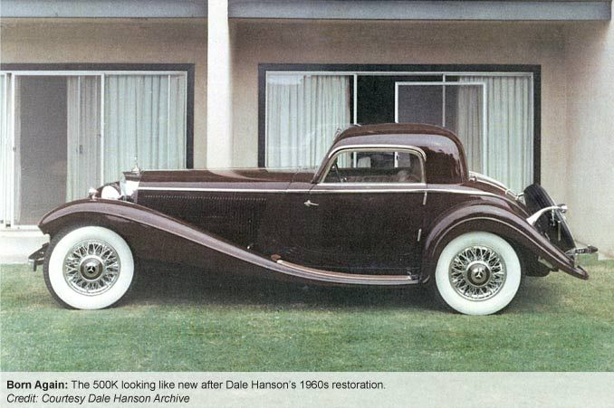 """The $10M Mercedes-Benz 500K That Vanished now lost in a salvage yard in Calfiornia, among many other """"Lost Cars"""""""
