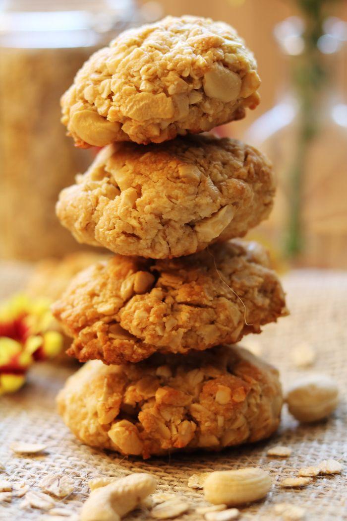 Ciasteczka z orzechami nerkowca