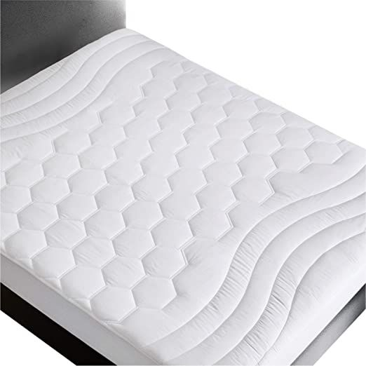 Bedsure Mattress Pad Full Size 54x75 Inches Breathable Ultra Soft Quilted Mattress Pad Protector Deep Pocket Up To 18 Mattress Covers Mattress Pad Mattress