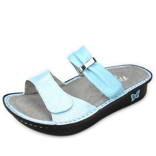 Alegria Shoes Karmen Sandal in 'Baby Blue' from Alegria Shoe Shop