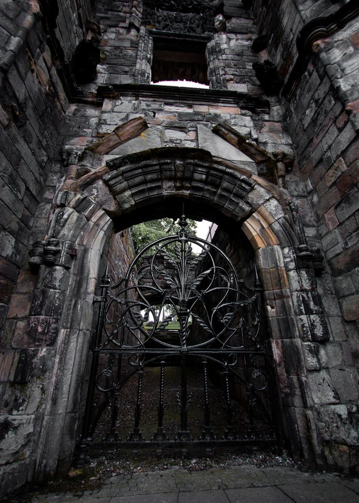 The Gate at Stirling Cemetery in Scotland