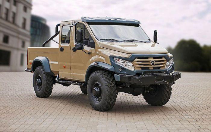 En el marco del foro internacional Army 2017, el conglomerado GAZ presentó por primera vez su innovadora camioneta todoterreno destinada al uso en condiciones extremas, informó el servicio de prensa de la empresa. El vehículo ha sido bautizado con el nombre de Vepr Next.