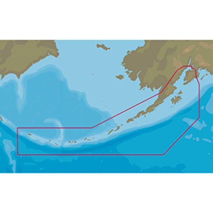 C-MAP NT+ NA-C812 Seaward to Attu Island - C-Card Format