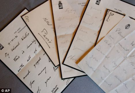 An Earlier Set Of Love Letters Exchanged By Edward VIII