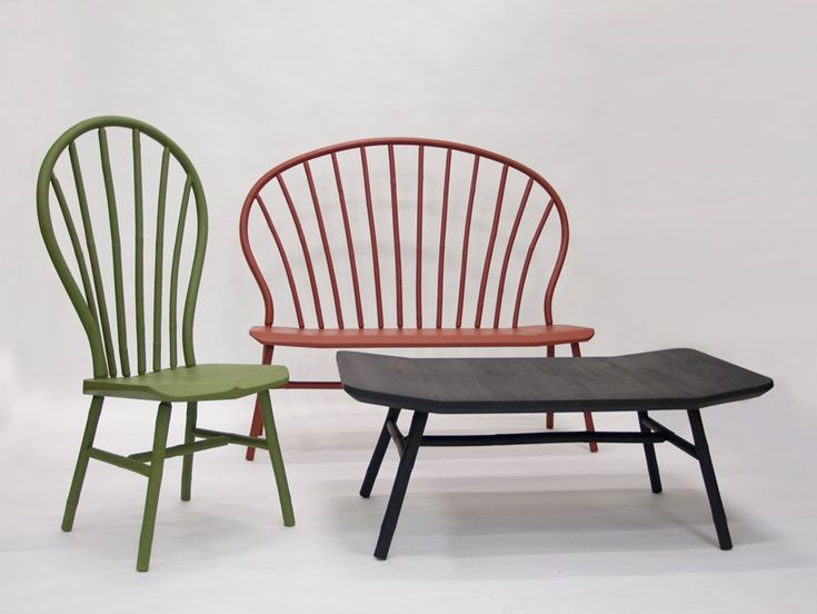 Bo Reudler With Olav Bruin Debut New Bamboo Furniture