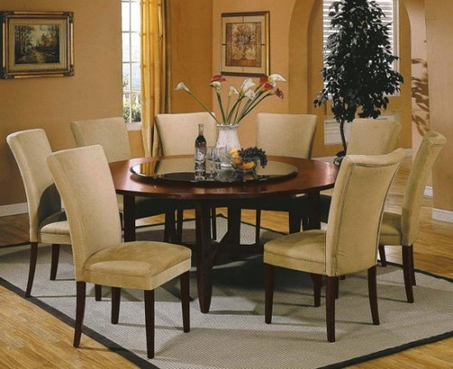 Steve Silver Avenue Round Dining Table Set