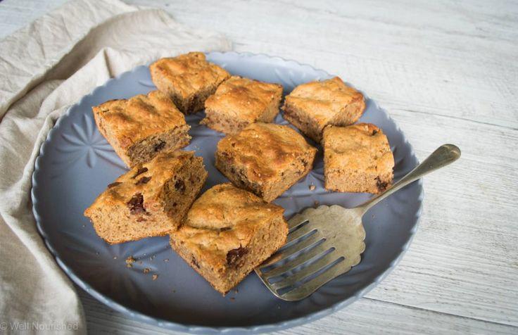 Well Nourished ⎮ Healthy Nut Butter Brownie (gluten, grain, dairy free), recipe…