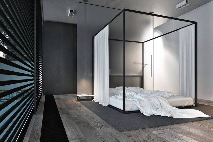 Can A Canopy Bed Ever Be Masculine