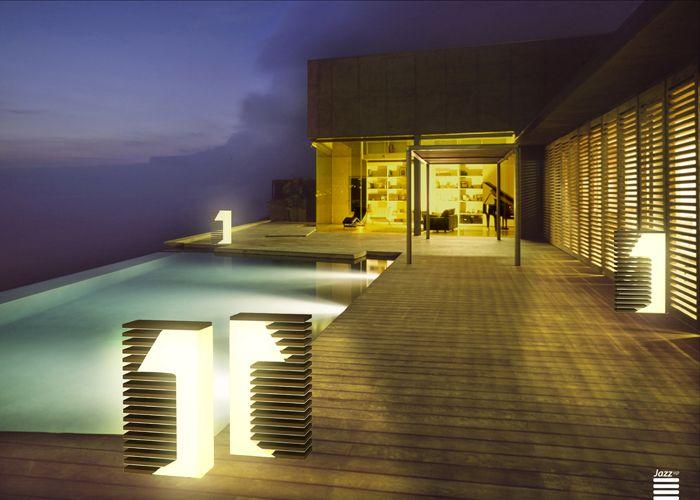 oświetlenie basenu
