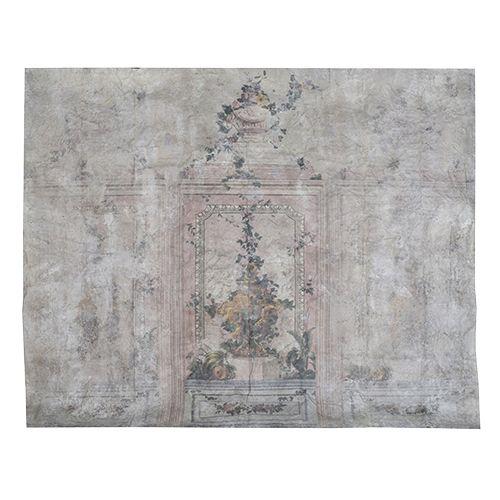 Väggmålning på canvas som kan fungera både som tapet & tavla från Manorstyle