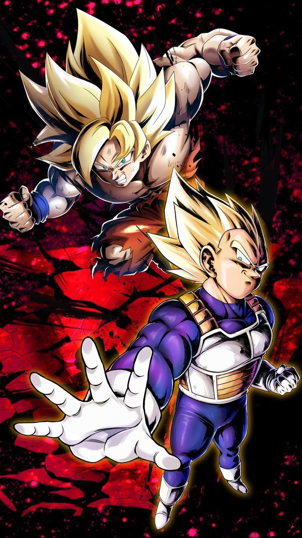 Bejita & Goku SSaiyanjin DragonBall Legends Dragon