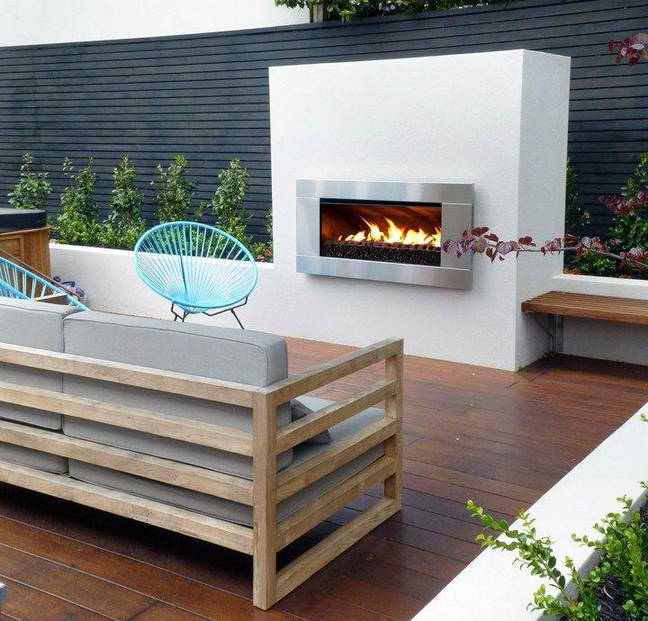 Best 25 outdoor gas fireplace ideas on pinterest gas for Outdoor gas fireplace designs