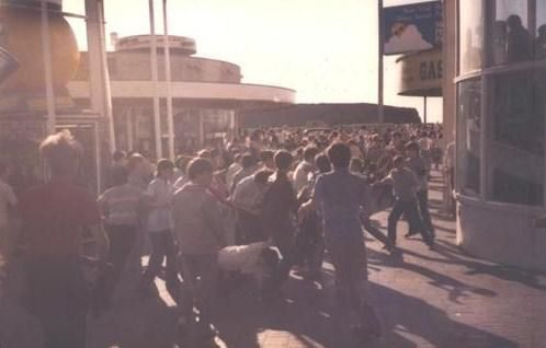 Wigan-Pleasure Beach Aug Bank hol Monday 85 #80sLeeds