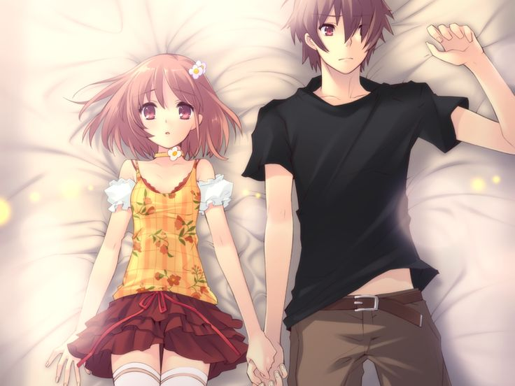 Anime Couple Holding Hands Pictures, Images & Photos ...