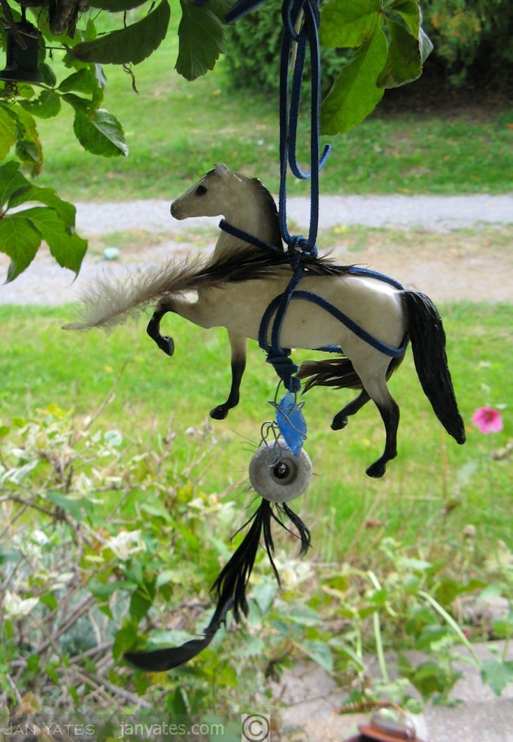 wish horse: rags for those loved, Grimsby Public Art Gallery outdoor installation