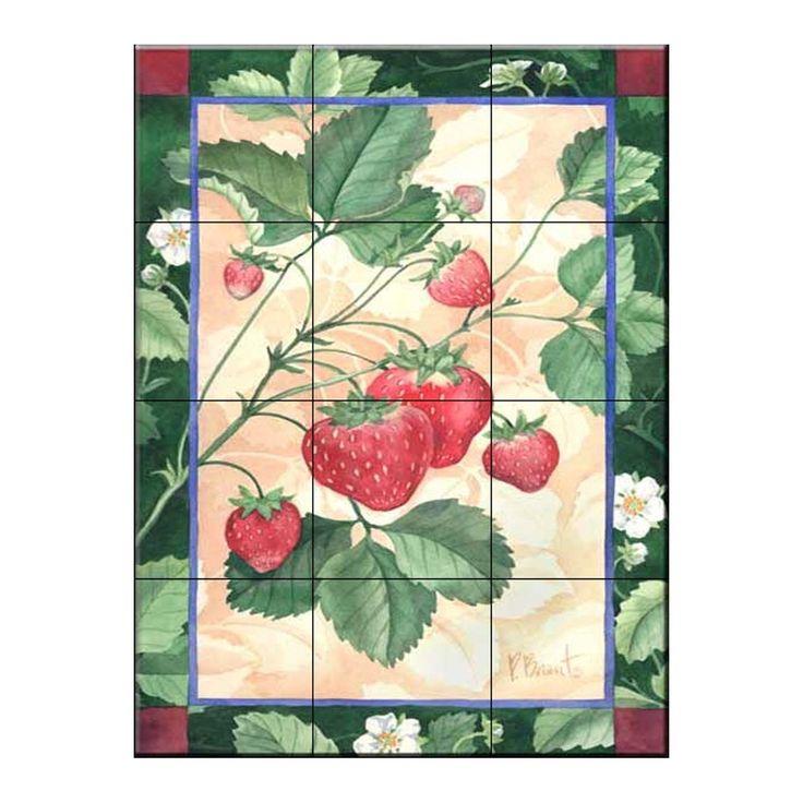 Strawberry decor strawberry home decor ideas - Strawberry kitchen decorations ...
