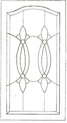 Cabinet Door Pattern