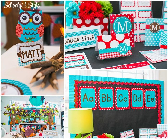 Red Classroom Decor ~ Best bright colored classrooms decor ☺️ images on