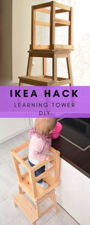 Learning Tower selbst bauen – unsere Anleitung aus Ikea Möbeln