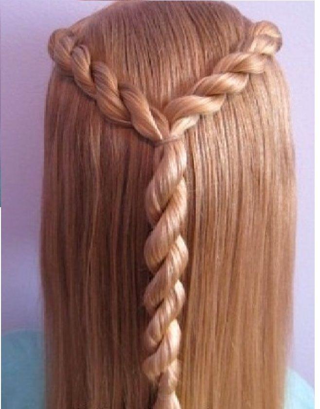 okul için saç modeli