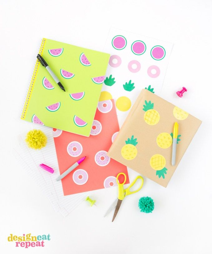 Free printable notebook stickers