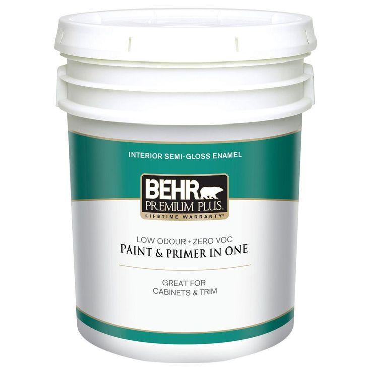 behr premium plus 5 gal ultra pure white semi gloss on behr premium plus colors id=43932