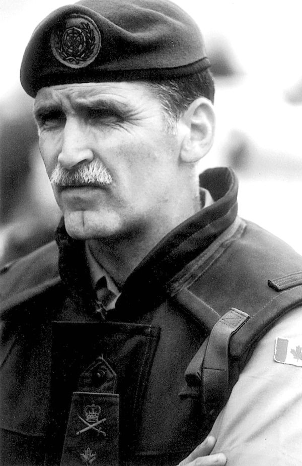 Romeo Dallaire, retired general, Canadian senator, humanitarian, author, advocate for veterans' mental health, moving speaker and inspiration