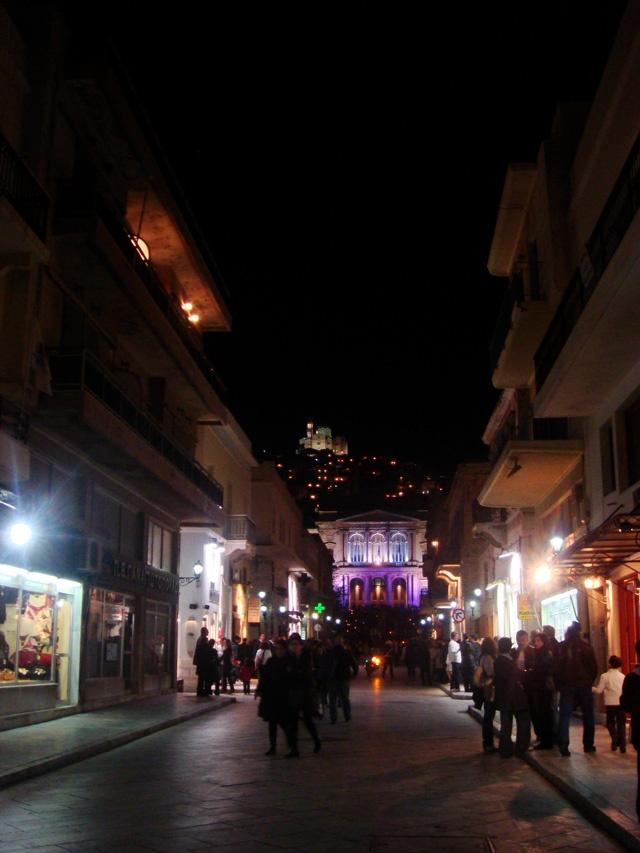 Streets of Ermoupoli #syros #greece
