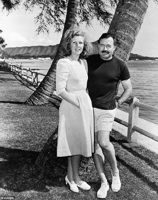 Martha Gellhorn (with Ernest Hemingway) - both huge writers in their own right.