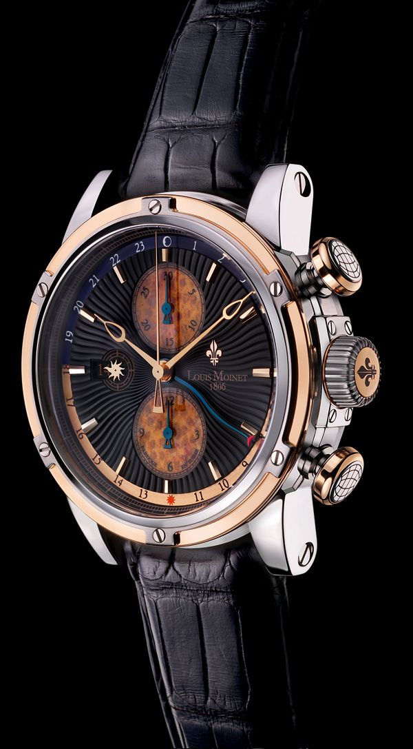 Geograph Rainforest Watch by Les Ateliers Louis Moinet