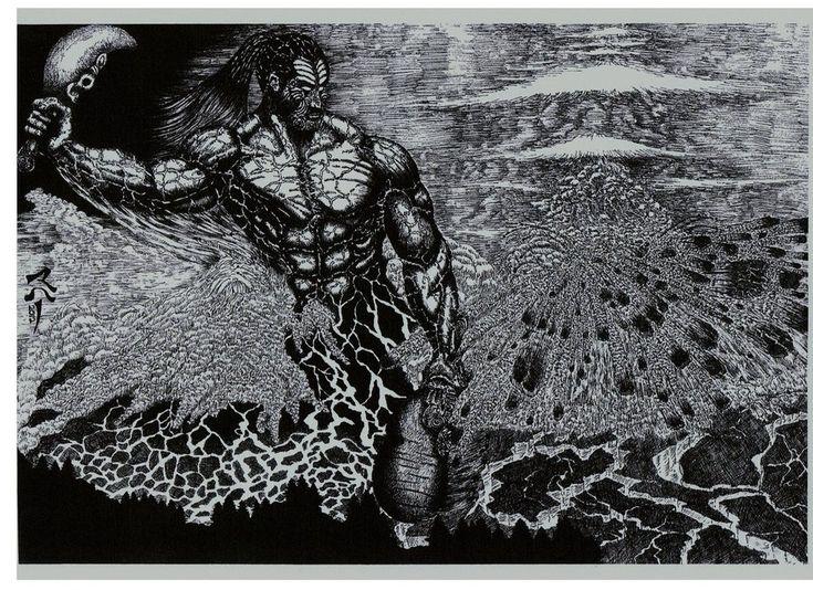 Maori God Prints Tangaroa Tane Mahuta Link in my bio
