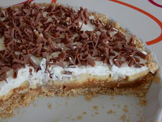 The lazy bakery: Banoffee taart
