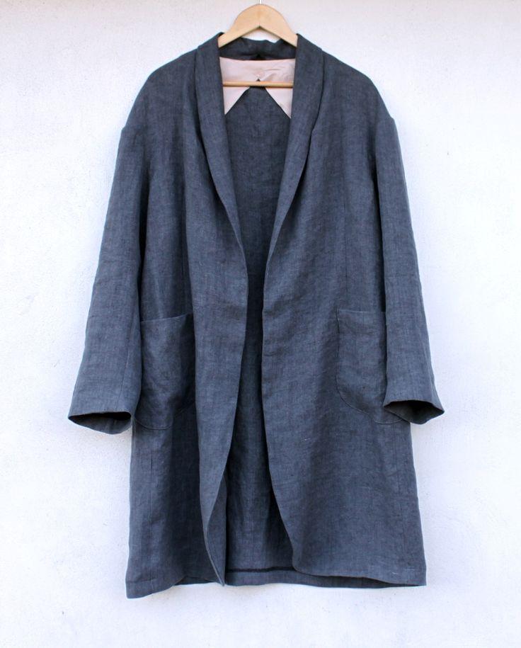 My Slouchy Haremere Coat // Merchant & Mills