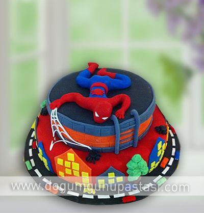 Cakes Spiderman Pinterest