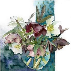 We love Vivienne Cawson's watercolours