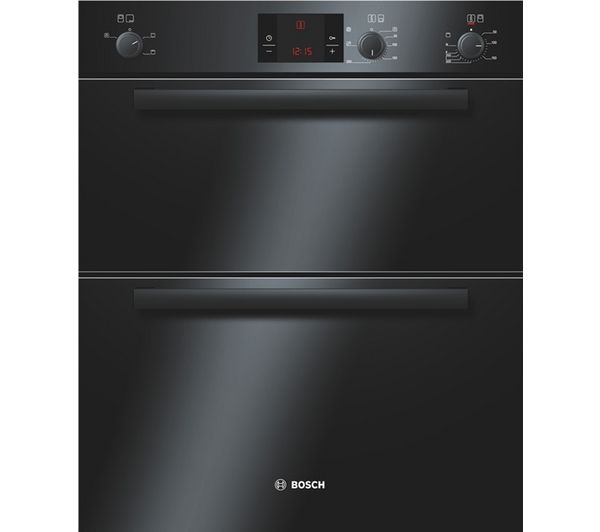 Buy BOSCH HBN13B261B Electric Built-under Double Oven - Black | Free Delivery | Currys