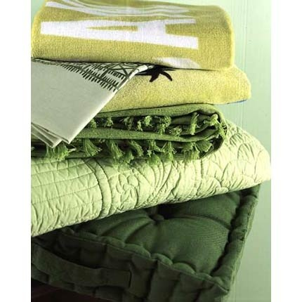 green quilts