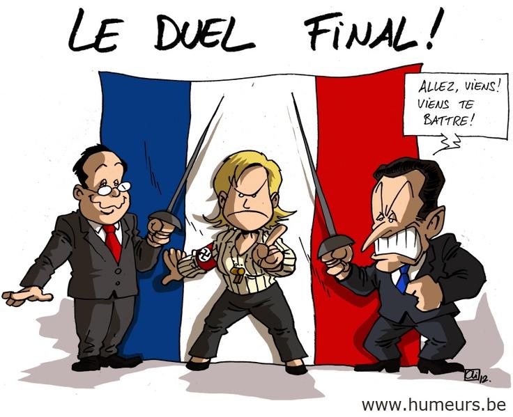 Hollande Sarkozy, le duel ? www.humeurs.be